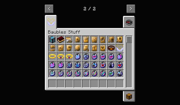 Imagen donde podemos algunos de los objetos de joyería que añade este mod, y que nos dará nuevas habilidades especiales.