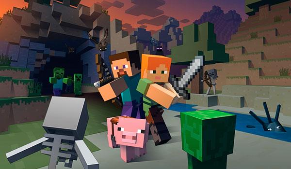 Microsoft quiere que Minecraft sea una marca centenaria, como Lego o Mattel