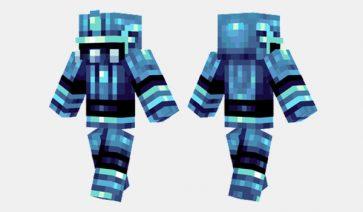 Ice Knight Skin para Minecraft
