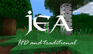 Jea Traditional Texture Pack para Minecraft 1.12