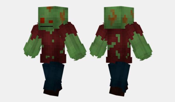 Rotten Zombie Skin para Minecraft