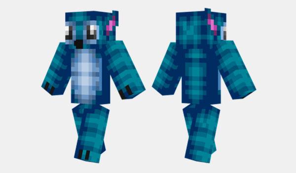 Stitch Skin para Minecraft
