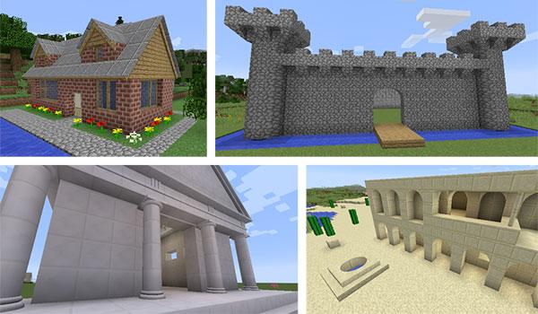 ArchitectureCraft Mod para Minecraft 1.10.2