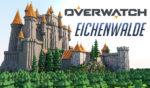 Recrean el castillo de Eichenwalde, de Overwatch, en Minecraft