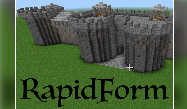 RapidForm Mod para Minecraft 1.10.2