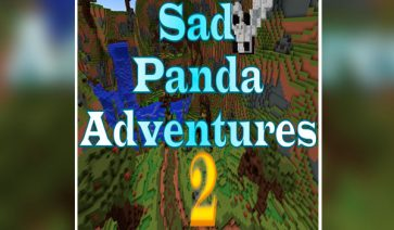 Sad Panda Adventures 2 Map para Minecraft 1.10.2