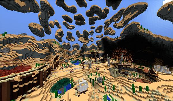 Imagen donde vemos uno de los niveles que encontraremos en el mapa Sad Panda Adventures 2.