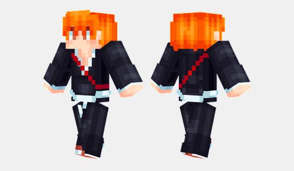 Ichigo Skin para Minecraft