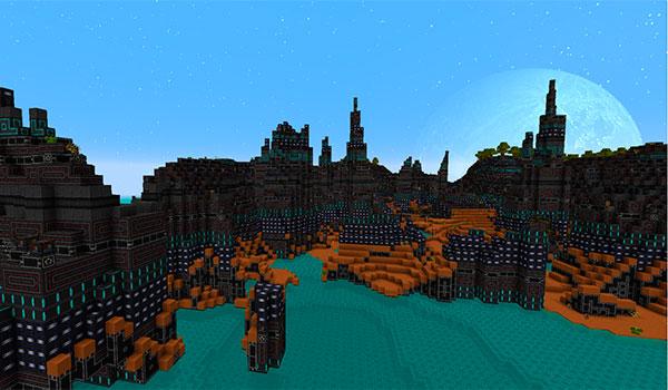 Norzeteus Space Texture Pack para Minecraft 1.11 y 1.10