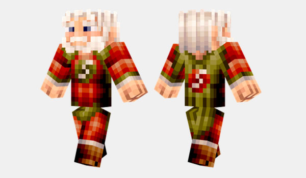 Super Santa Skin para Minecraft