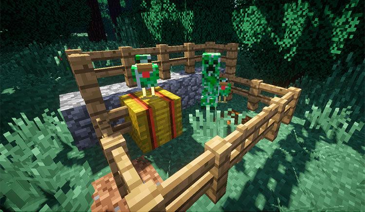 Creeper Chickens Mod para Minecraft 1.11.2
