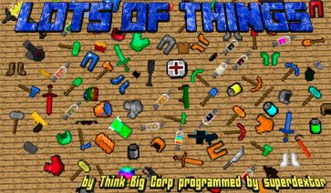 Lots of Things Mod para Minecraft 1.11 y 1.11.2