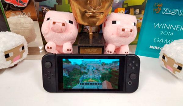 Minecraft también llegará a Nintendo Switch