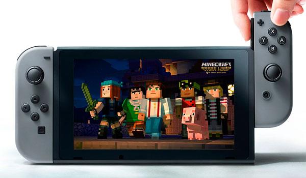Minecraft: Story Mode llegará a Nintendo Switch