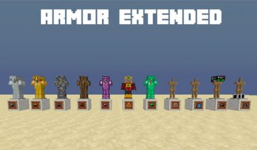 Armor Extended Mod para Minecraft 1.11.2