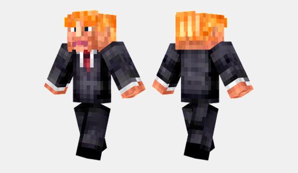 Donald Trump Skin para Minecraft