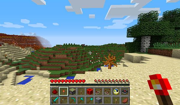 Dual Hotbar Mod para Minecraft 1.11