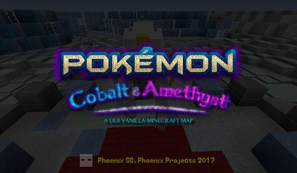 Un grupo de jugadores crea Pokémon: Cobalt and Amethyst en Minecraft