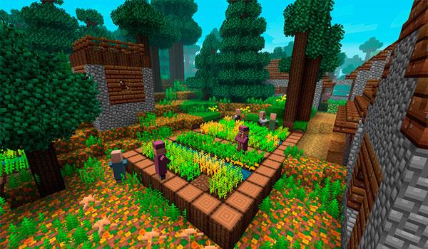 Radiant Pixels Texture Pack para Minecraft 1.11 y 1.10