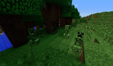 Chameleon Creepers Mod para Minecraft 1.11 y 1.11.2
