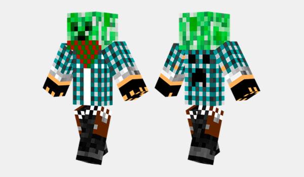 Creeper Gangster Skin
