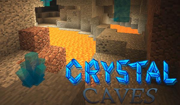 Crystal Caves Mod para Minecraft 1.11.2