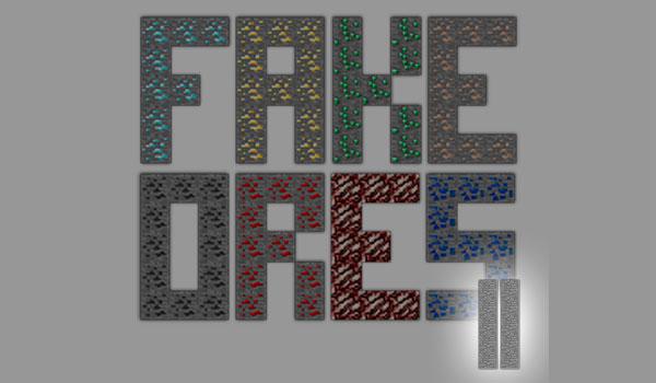 Fake Ores 2 Mod para Minecraft 1.11
