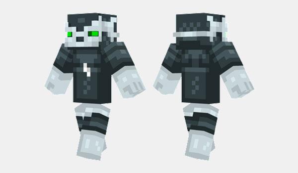 Ice Robot Skin para Minecraft