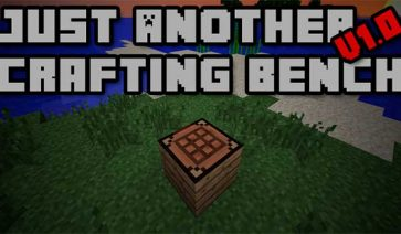 Just Another Crafting Bench Mod para Minecraft 1.11.2