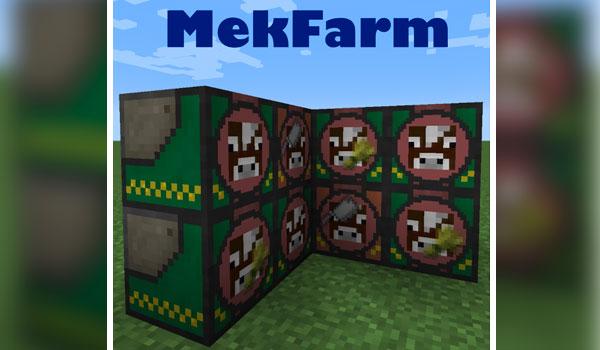 Mekfarm Mod para Minecraft 1.11 y 1.11.2