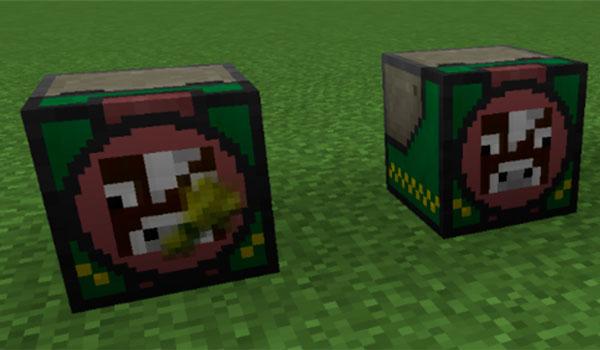 Imagen donde vemos dos ejemplos de las máquinas que añade este mod.