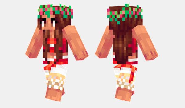 Moanapicture Como Instalar Moana Skin Para Minecraft Descargar - Skins fur minecraft skindex