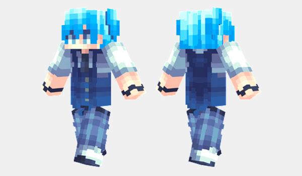 Nagisa Shiota Skin para Minecraft