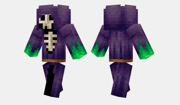 Skull Mage Skin para Minecraft