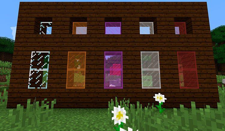 Cómo hacer ventanas en Minecraft