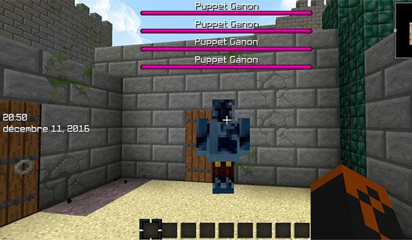 Imagen donde vemos a una de las criaturas que añade este mod, en este caso se trata de Darknut.