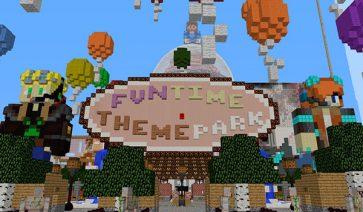 Fun Time Theme Park Map para Minecraft 1.11