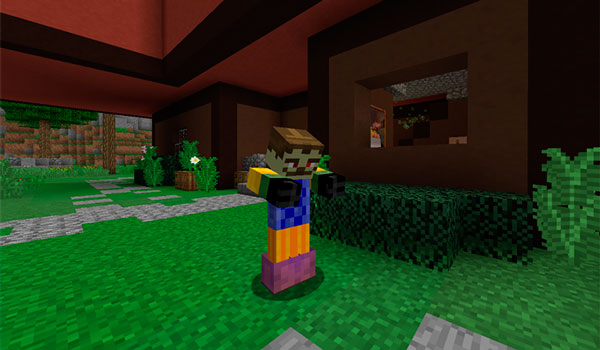 Imagen donde podemos ver al vecino zombie, uno de los protagonistas de este mapa.