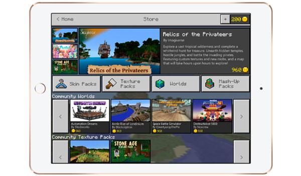 Minecraft Marketplace: Mercado donde modders de Minecraft PE y Win 10 podrán vender sus creaciones