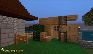 Monsterley Texture Pack para Minecraft 1.13 y 1.12