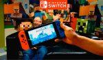Este es el aspecto de Minecraft en Nintendo Switch