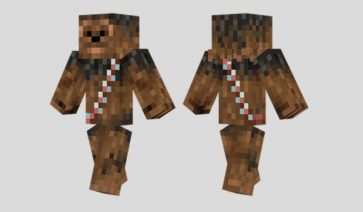 Chewbacca Skin para Minecraft