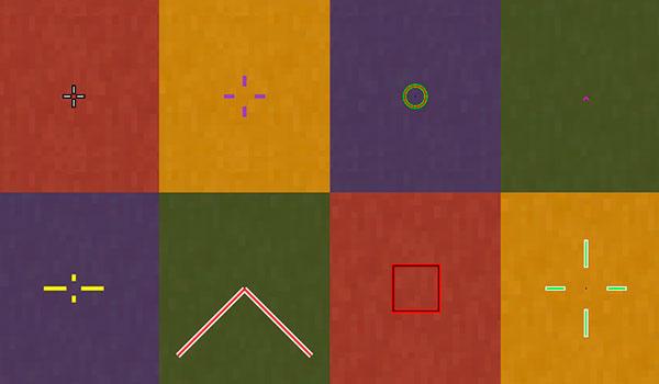 Custom Crosshair Mod para Minecraft 1.11 y 1.11.2