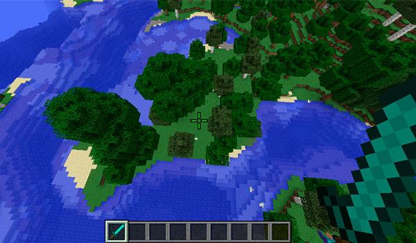 Imagen donde podemos ver una cruceta modificada, con una nueva forma y un nuevo color.