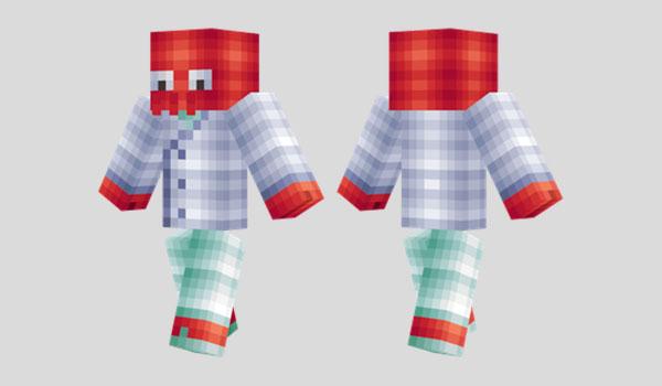 Dr. Zoidberg Futurama Skin para Minecraft
