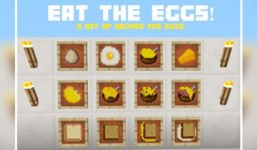 Eat the Eggs Mod para Minecraft 1.11 y 1.11.2