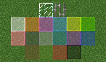 Horizontal Glass Panes Mod para Minecraft 1.11.2