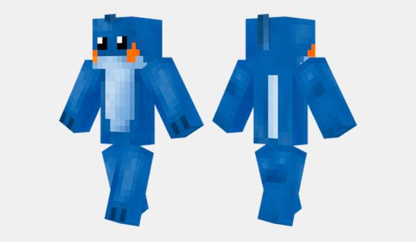 Mudkip Skin para Minecraft