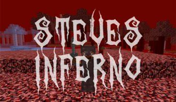 Steves Inferno Mod para Minecraft 1.11.2