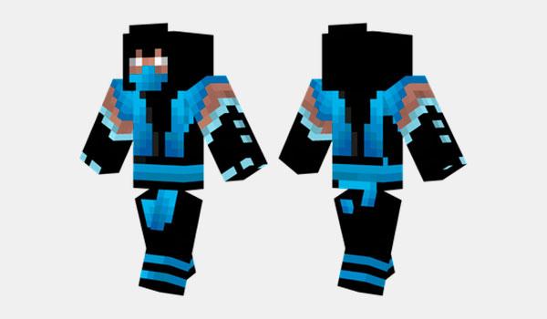 Sub Zero Skin para Minecraft